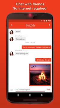 FireChat Cartaz
