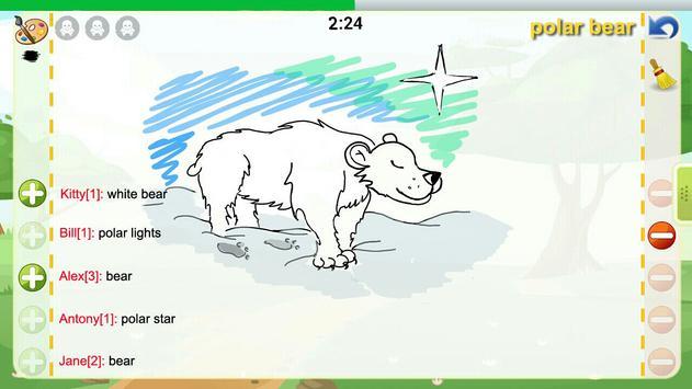 Draw and Guess Online penulis hantaran