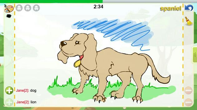 Draw and Guess Online syot layar 1