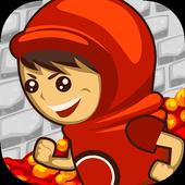 Bedlam Jump: Avoid Fire Spikes icon