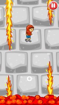 Bedlam Jump: Avoid Fire Spikes apk screenshot