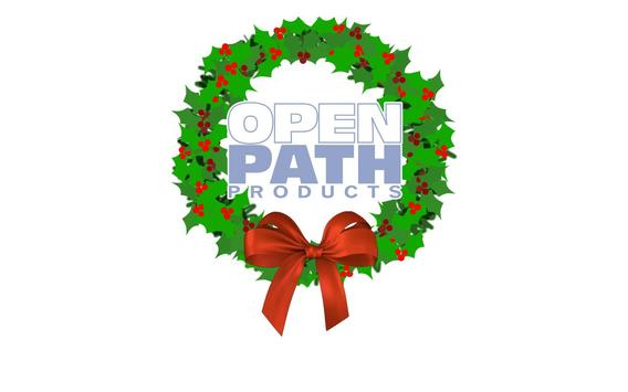 OpenPath AR Holiday Card poster