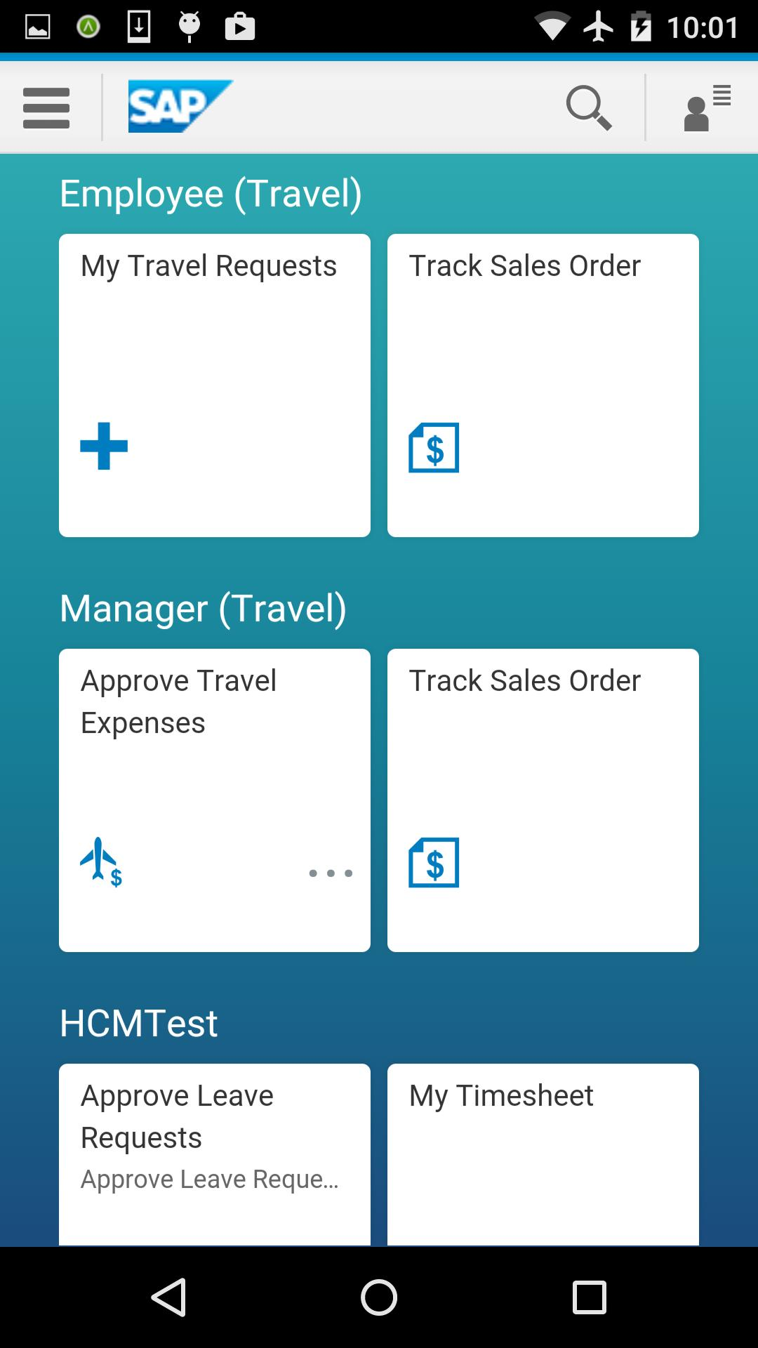 SAP Fiori for SECTOR for Android - APK Download