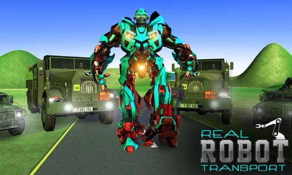 Super Robot Transport Truck 3D poster