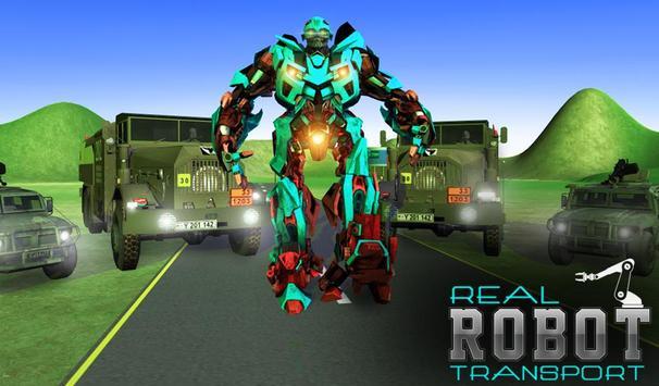 Super Robot Transport Truck 3D apk screenshot