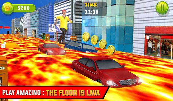The Floor is Lava - City Run screenshot 5