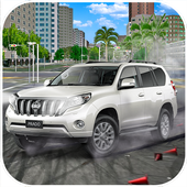Luxury Prado Drift X Racing Prado Car Games icon