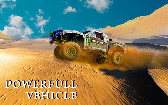 Monster Truck Desert Drive poster