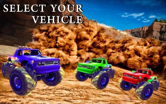 Monster Truck Desert Drive screenshot 11