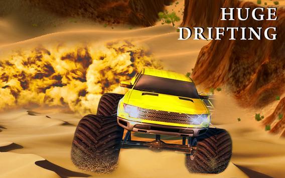 Monster Truck Desert Drive screenshot 16