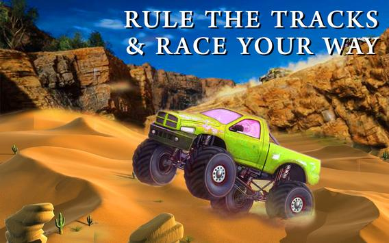 Monster Truck Desert Drive screenshot 1