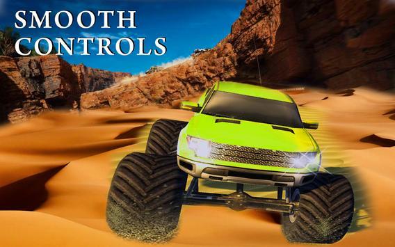 Monster Truck Desert Drive screenshot 2
