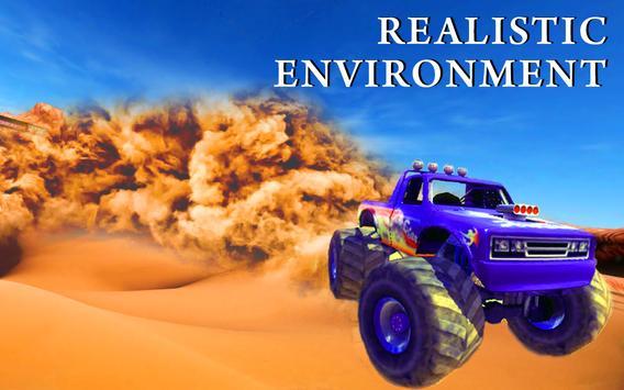Monster Truck Desert Drive screenshot 3