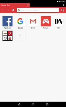 Opera Mini - fast web browser apk screenshot