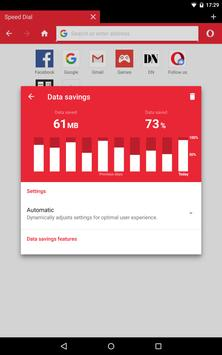Opera Mini - web browser cepat apk screenshot