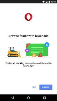 Opera Mini - fast web browser apk screenshot