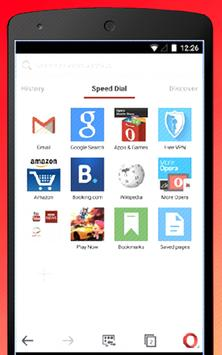 Fast Opera Mini Web Browser Tips screenshot 4
