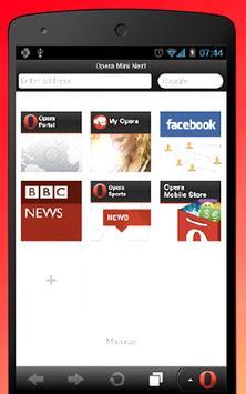 Fast Opera Mini Web Browser Tips screenshot 3