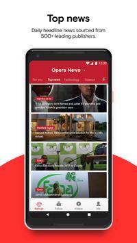 Opera News screenshot 1
