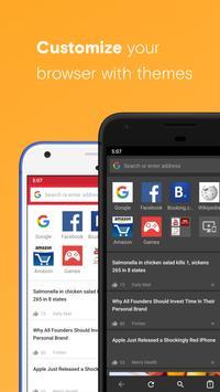 Opera browser beta screenshot 1