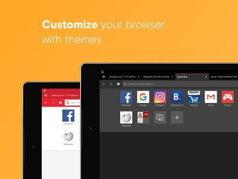 Opera 浏览器:快速又安全 apk 截图