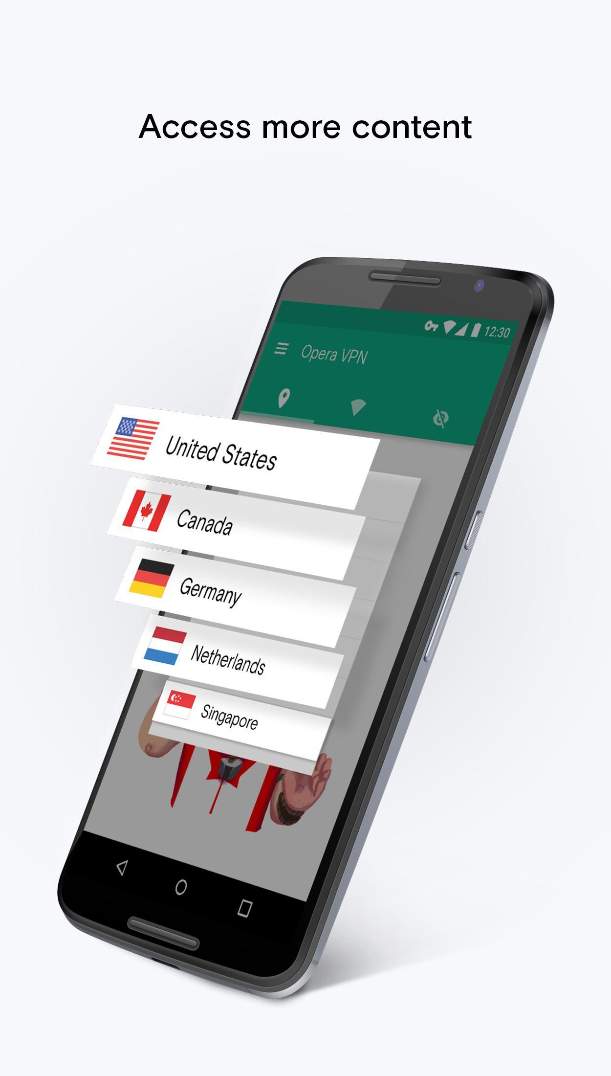 Opera Free VPN - Unlimited VPN for Android - APK Download