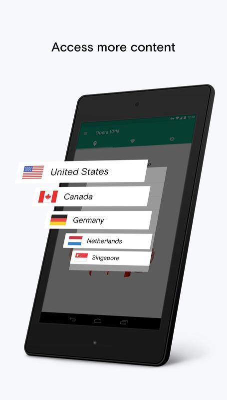 opera mini vpn android download