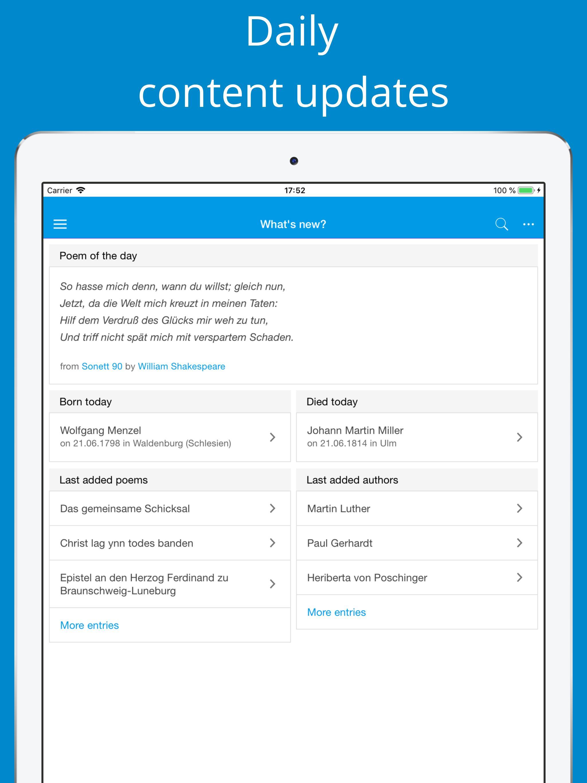 Deutsche Gedichte For Android Apk Download