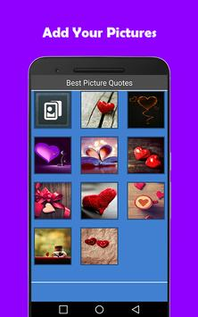 Best Picture Quotes apk screenshot