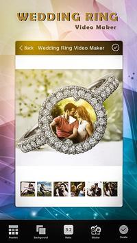 Wedding Ring Video Maker poster