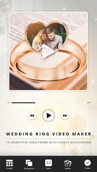Wedding Ring Video Maker screenshot 1