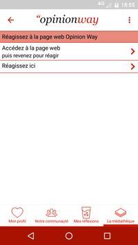 OpinionLive apk screenshot