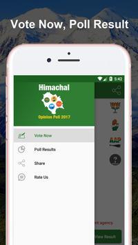 Opinion Poll 2017 Himachal Pradesh apk screenshot