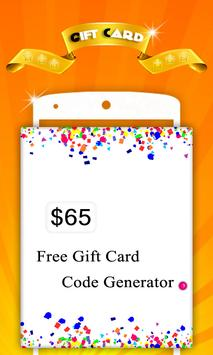 Free Gift Card Generator 스크린샷 7