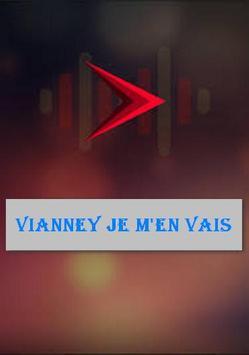 Vianney Je m'en vais poster