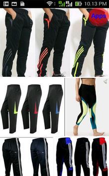 Design of Sports Pants screenshot 1
