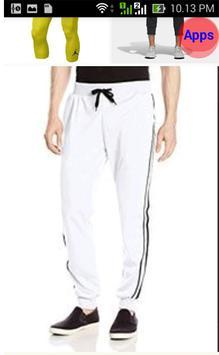 Design of Sports Pants screenshot 2