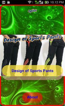 Design of Sports Pants screenshot 3