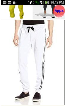 Design of Sports Pants screenshot 8