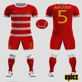Uniform Futsal Design icon