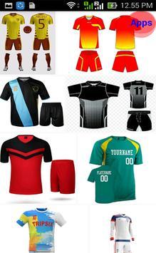 Uniform Futsal Design screenshot 4