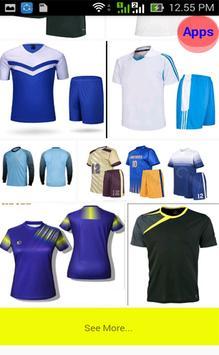 Uniform Futsal Design screenshot 5