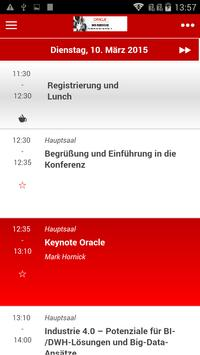 Oracle DWH Konferenz Guide poster