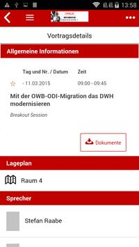 Oracle DWH Konferenz Guide screenshot 2