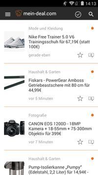 Mein Deal - Schnäppchen App apk screenshot
