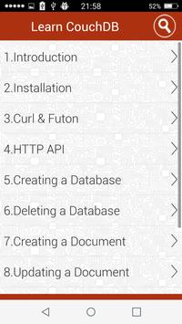 Tutorial Database full apk screenshot