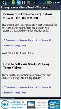 Entrepreneur Magazine eRea apk screenshot