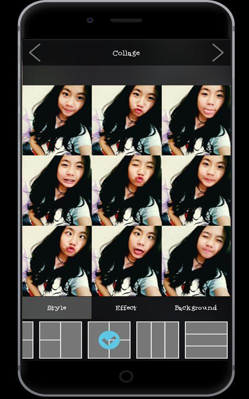 Aplikasi samsung terpopuler Selfie A-612 Lite Filter