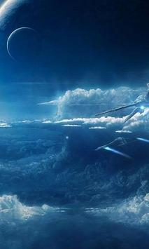 Space Battle Live Wallpaper poster