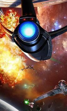 Space Battle Live Wallpaper screenshot 1